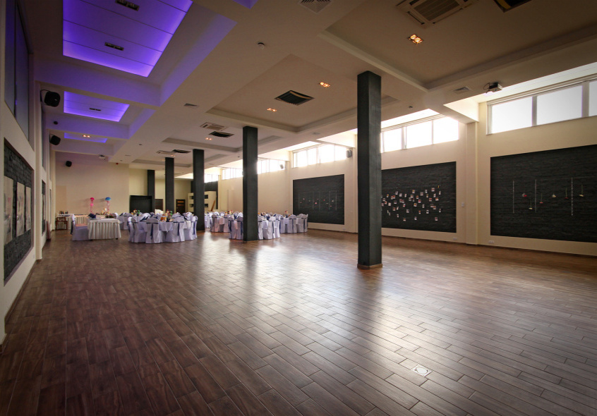 Large wedding hall